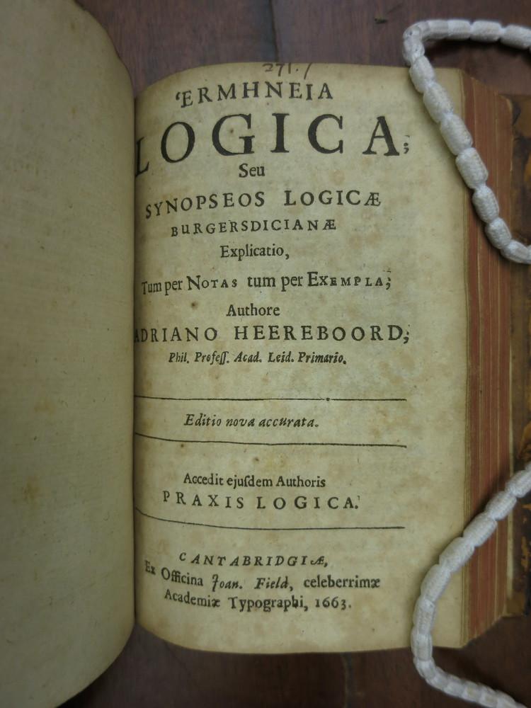 Heereboord title page