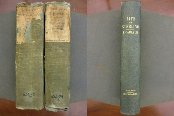 Mill's annotated copies of Sterling and Carlyle's Life of Sterling